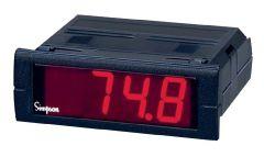 M240-0-91-0-F Temperature Indicator, Mini-Max, 85-250VAC, J T/C,