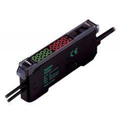F85RN Fiber Optic Sensor, NPN/PNP Dual Output,Red LED, 1