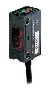 GSM2RSN Photoelectric Sensor, Polarized Reflective, NPN,Re