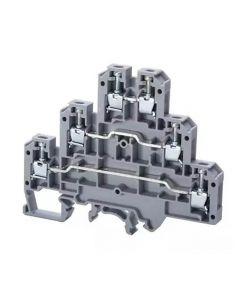 Terminal block, 6x67x84mm, 25A, 300V, 22-12AWG