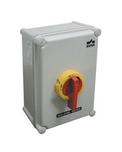 Disconnect Switch, Enclosed, 125A, 600V, IP65