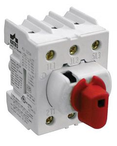 Disconnect Switch, Direct Handle, 3 pole, 40 Amp