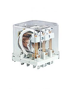 Ice Cube Relay, 110VDC, DPST(2NO), 16A