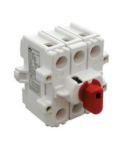 Disconnect Switch, Direct Handle, 3 pole, 80 Amp