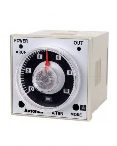 Time Delay Relay, Analog, AC/DC, DPDT, 6 Mode