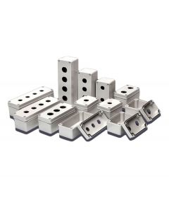 Enclosure, PB/Switch Box, √ò30mm,  ABS, 3 Hole