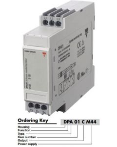 Monitoring Relay, 3-Phase, 208-480VAC, 8A, SPDT