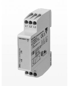 Monitoring Relay, 3-Phase, 208-480VAC, 5A, SPDT