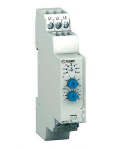 Monitoring Relay, MWU 3-Phase, DIN Rail, SPDT