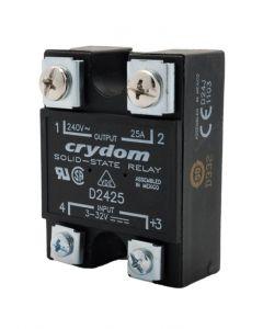 SSR, Hockey Puck, 25A, 3-32VDC Control Voltage