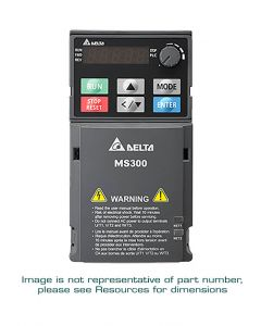 AC Drive, 1/4hp, 230V, 3-Phase