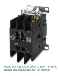 DP Contactor, 2 Pole, 40A, Lug, Slotted Screw w/QC