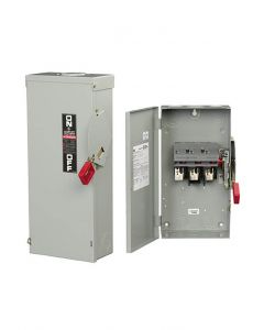 Safety Disconnect Switch, 100A, 600V, 3P