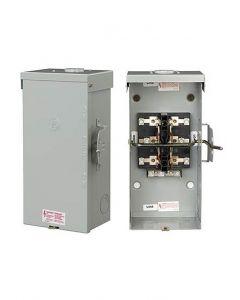 Transfer Switch, 100A, 2P, DT, NEMA 3R