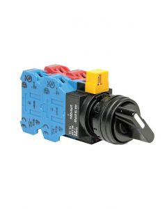 Selector Switch, 22mm, Plastic, 3 Position