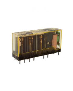 Relay, Force Guided, 3NO-1NC, 12VDC, LED