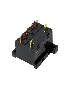 Power Relay, 2 Pole, Quick Connect, 24VAC