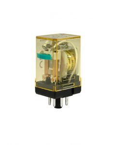 Relay, General, 6VAC, 2 Pole (DPDT) Pin