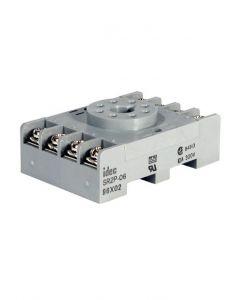 Socket, 8-Pin, DIN Mount, Screw Terminal,