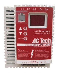 AC Drive, 5hp, 208-240V, 3 Phase, AC Tech SM250