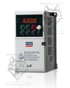 AC Drive, 200~240VAC, 3 Phase, 1/2hp, 2.5A