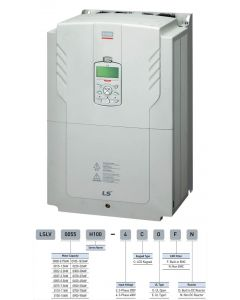 AC Drive, 380~480VAC, 3 Phase, 75hp, 107A