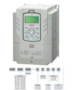 AC Drive, 200~240VAC, 3 Phase, 2hp, 8A