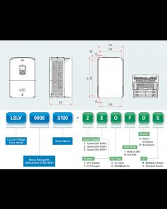 VFD, 50hp, 75A, IP20, 3 Phase, 380-480VAC