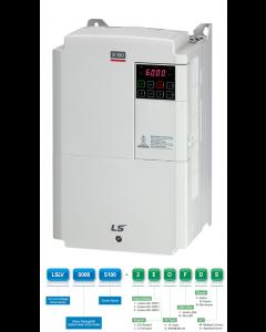 VFD, 30hp, 45A, IP20, 3 Phase, 380-480VAC