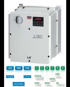 VFD, 3hp, 11A, NEMA4X, 3 Phase, 200-240VAC