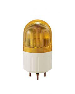 Beacon, √ò66mm, Yellow, 12VDC, Rotating