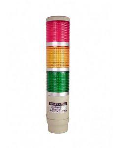 Light Tower, Ø56mm, RYG, 110~120VAC, Steady Light,