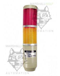 Light Tower, √ò56mm, RY, 24VAC/DC, Steady/Flash