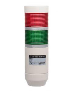 LED Light Tower, 56mm, Steady&Flashing, 110VAC
