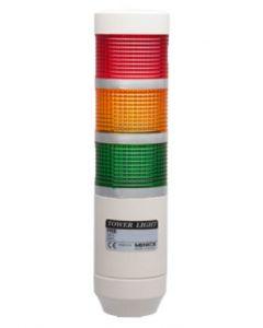 LED Light Tower, 56mm, Steady&Flashing, 12VAC/DC