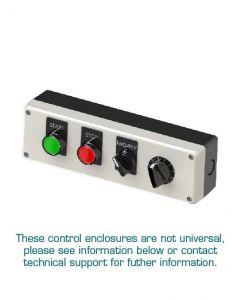 Pushbutton Enclosure Kit, 4 Button, Assembled