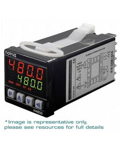 Temp. Controller, 1 Relay+Pulse Out, 48x48 mm