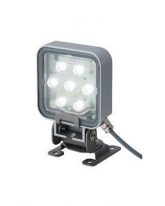LED Spotlight, 85mm Square, Pan Tilt Mount