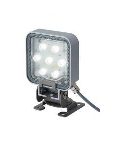 Spotlight, 85mm Sq, LED, Tilt, Daylight