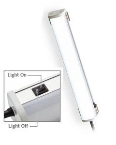 LED Work Light, 300mm, 100-240VAC UL Listed, Leads