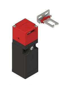 Safety switch with separate actuator