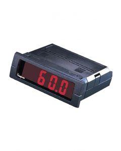 Digital Panel Meter, 3/64 DIN, Neg. Red Backlight