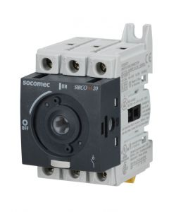 Disconnect Switch, Non-Fusible, UL508, 20A, 3 Pole