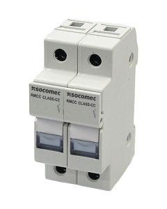 Fuseholder, 30 Amp Class CC, 2 Pole, No LED, IP20