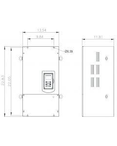 AC Drive, 50hp, 230V, 3 Phase, IP00