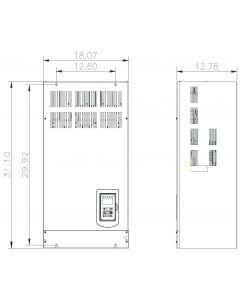 AC Drive, 75hp, 230V, 3 Phase, IP00