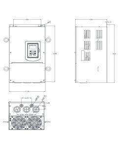 AC Drive, 75hp, 460V, 3 Phase, IP00