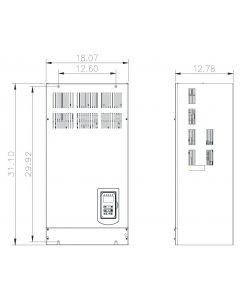 AC Drive, 215hp, 460V, 3 Phase, IP00