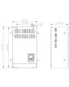 AC Drive, 125hp, 230V, 3 Phase