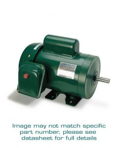 Motor, Single Phase, 2hp, 182T, Footed Frame